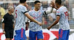 Cristiano Ronaldo hoy, Premier League, Manchester United vs West Ham