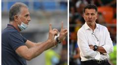 Carlos Queiroz y Juan Carlos Osorio