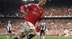 Cristiano Ronaldo, jugador del Manchester United