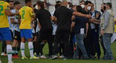 Escándalo Brasil Vs Argentina
