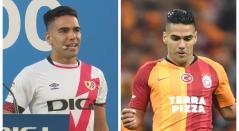 Falcao García en Rayo Vallecano y Galatasaray
