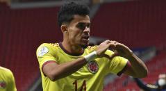 Luis Díaz, jugador de Colombia