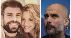 Piqué, Shakira y Guardiola