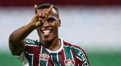 Jhon Arias, jugador colombiano en Fluminense