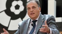 Javier Tebas, presidente de la liga española