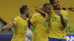 Neymar, Brasil, Eliminatorias Qatar 2022