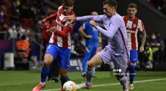 Atlético de Madrid vs Barcelona, liga española hoy