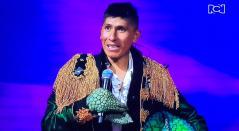 Nairo Quintana bailando