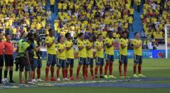 Selección Colombia, formación