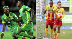 Deportes Quindío y Deportivo Pereira, Liga Betplay