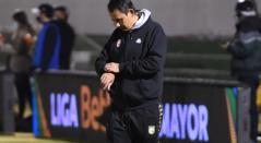 Grigori Méndez, técnico de Santa Fe