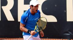 Nicolás Mejía en el Challenger de Bogotá