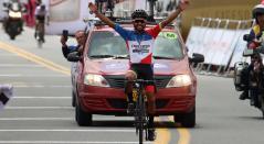 Dubán Bobadilla, ciclista colombiano en el Clásico RCN