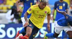 Roger Martínez, delantero de la Selección Colombia