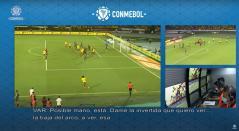 Gol anulado de Yerry Mina por el VAR
