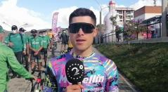 José Tito Hernández, ciclista del Team Medellín