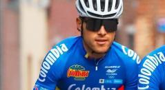 José Tito Hernández, en el Mundial de Ciclismo de Flandes 2021