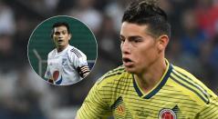 James Rodríguez y David Macalister Silva, Selección Colombia