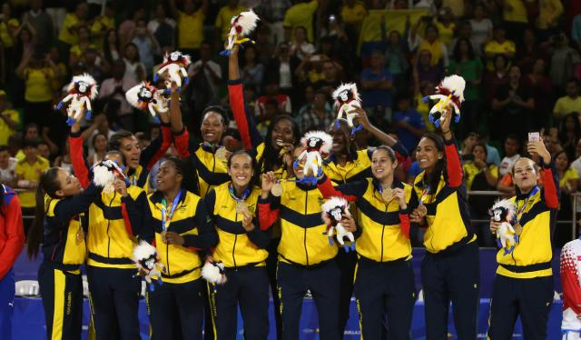 Colombia Cuba Baloncesto Femenino 10
