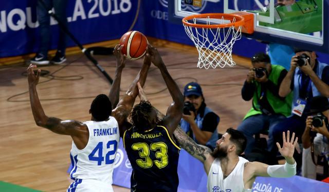 Colombia Puerto Rico Baloncesto Centroamericanos