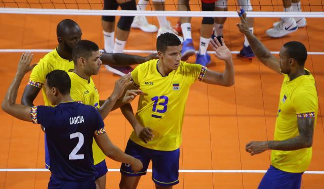 Colombia - Puerto Rico Voleibol Masculino
