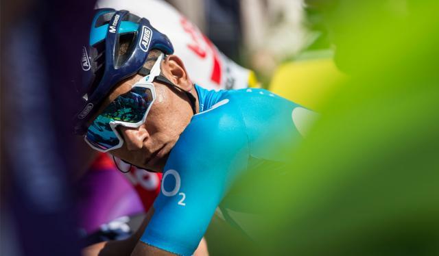 Nairo Quintana, ciclista colombiano del Movistar Team