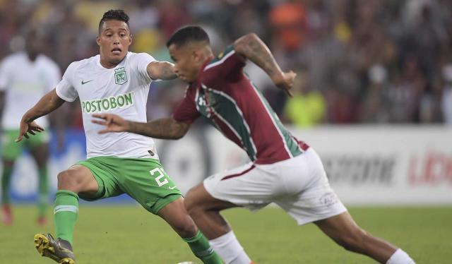 Atlético Nacional cayó goleado ante Fluminense