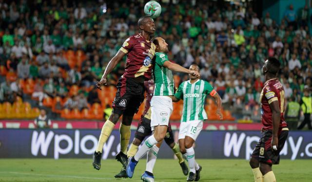 Nacional vs Tolima - Liga Águila 2019-1