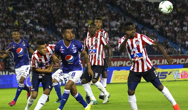 Junior vs Millonarios - Liga Águila 2019-2