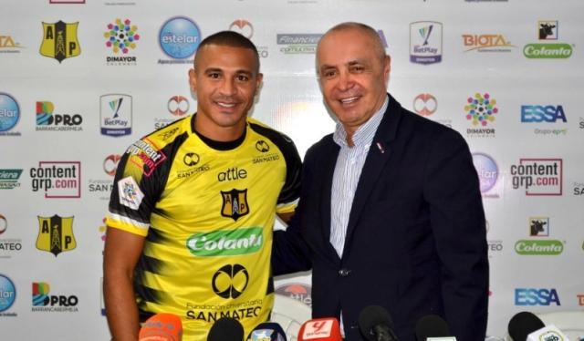 Macnelly Torres, jugador de Alianza Petrolera