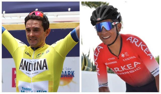 Óscar Sevilla y Nairo Quintana