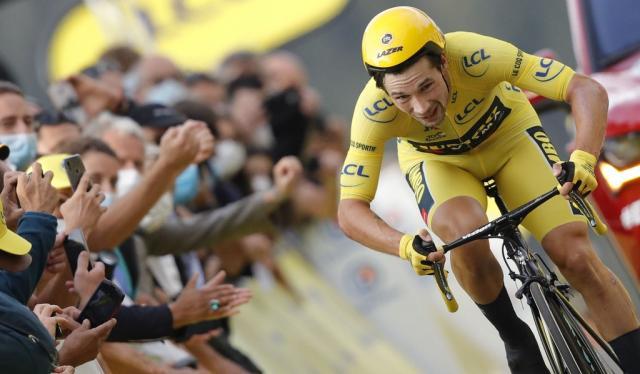 Primoz Roglic, Tour de Francia