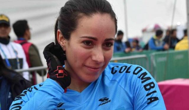 Mariana Pajón, pedalista colombiana