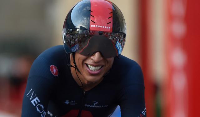 Egan Bernal, Vuelta a España 2021