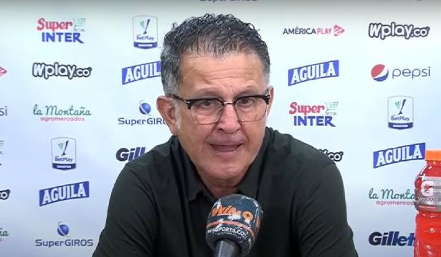 Juan Carlos Osorio, entrenador de América de Cali